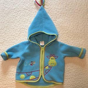 Hanna Andersson Zip Fleece Jacket